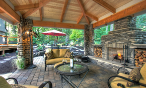 $599 for Paver Stone Patio or Walkway Delivered...