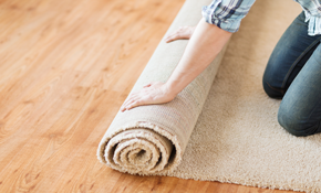 $150 for 3 Rooms of Power Carpet Stretching...