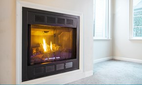 $89 for a Gas Log Fireplace Tune-Up, Cleaning,...