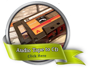 Audio Tapes to CD or MP3
