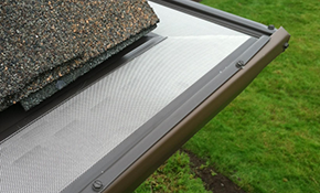 $1,399 for 100 ft. of Stone Coat Gutter Protection...