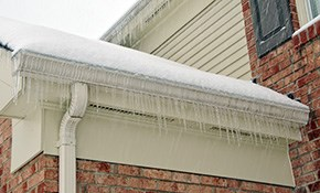 $1,350 for Gutter/Roof De-Icer Cable Installation