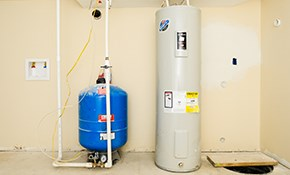 $49 for a Water Heater Tune-Up with a Comprehensive...