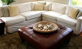 $189 for Upholstery Cleaning and 200 Sq Ft...