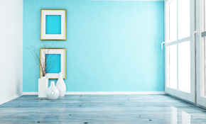 $349 for Three Rooms of Interior Painting