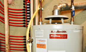 $895 for an Electric or Gas Water Heater Installed