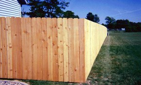 $1,999 for a New Privacy Fence Installed