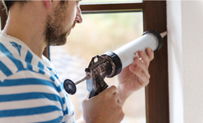 $399 for 5 Windows Re-Caulked; Including...