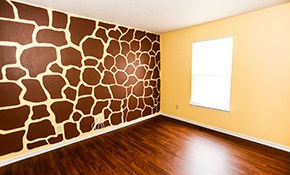 $800 for 4 Rooms of Interior Painting