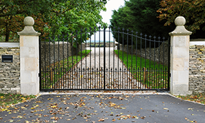$135 for a Driveway Gate Service Call