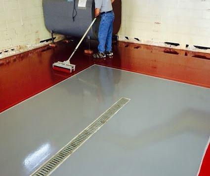 Legacy industrial garage flooring winter garden fl for Garage floor cleaning service