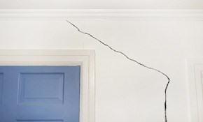 $95 Drywall Repair of a Stress Crack-May...