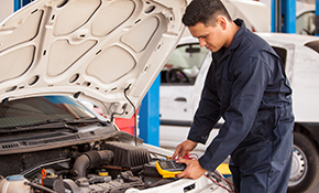 $63.99 Full Service Oil Change Package with...