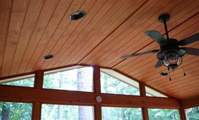 $283 for Ceiling Fan Installation plus Drywall...