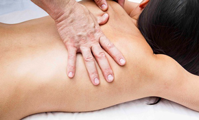 $40 for 60-Minute Therapeutic Massage