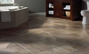 $999 New Porcelain Tile Floor with One Day...