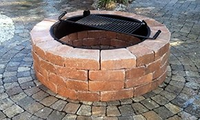 $4,975 for Paver Patio with Matching Fire...