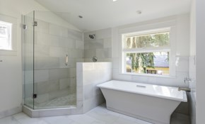 $225 for a Large Shower Tile Cleaning and...