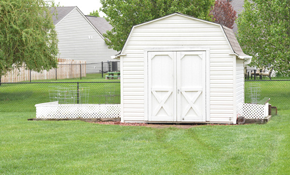 $150 for Metal Shed Removal