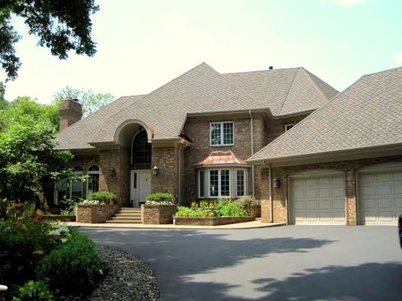 Residential re-roofing project