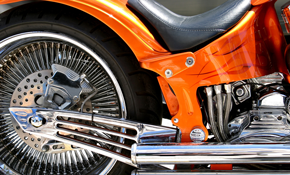 $149 for a Motorcycle Detail