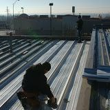 Structual Steel roofing system