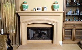 $2,862 for a Henry Fireplace Mantel