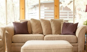 $180 for up to 12 Feet of Sofa and Loveseat...