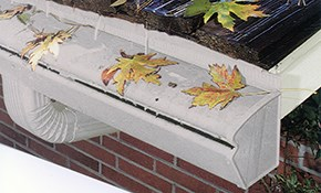 $2,900 for 140 Linear Feet of Gutter Protection...