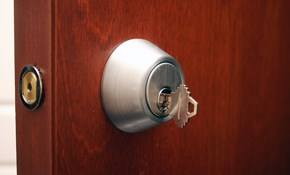 $110 for a Locksmith Service Call and Re-Key...