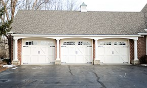$25 for Half-Hour Garage Door Service Call...