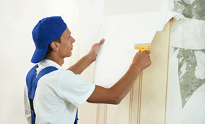 $135 for Four Hours of Wallpaper Removal