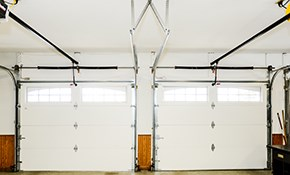 $125 Garage Door Tune-Up and Roller Replacement