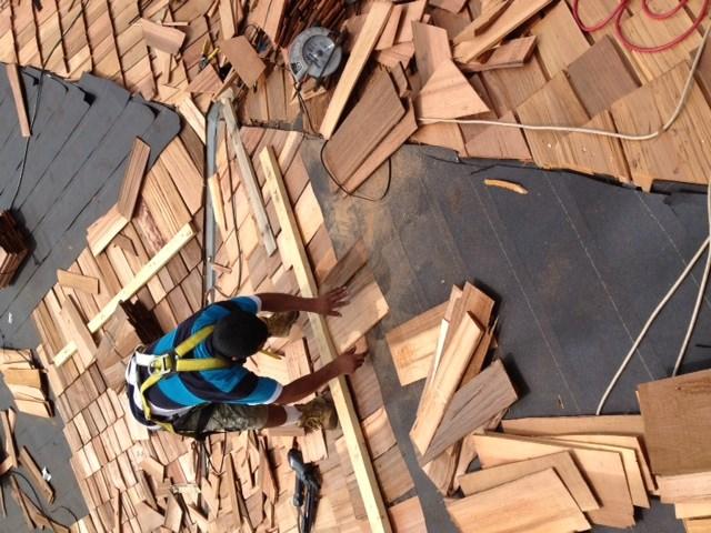 Cedar Shake shingle roofing