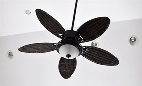 $95 for a Ceiling Fan Installation