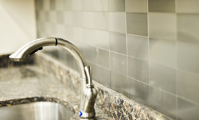$529 for a New Ceramic Tile Backsplash, Including...