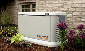 $3,899 Installation of a Home Generator