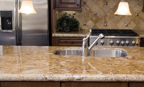 $5,500 for Custom Natural Stone Countertops...