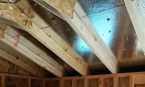 $111 for 1,000 Square Feet of Radiant Barrier...
