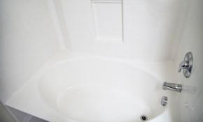 $745 Fiberglass Tub and Shower