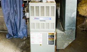 $1,895 for Installation of New Gas Furnace