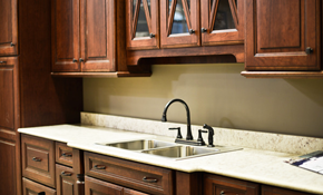 $1,799 for Compete Kitchen Cabinet Refinishing