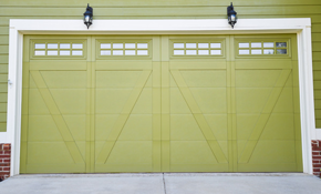 $599 for a Haas Model Insulated Garage Door