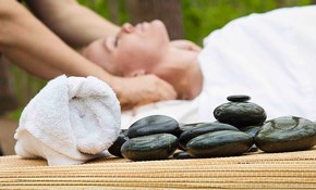 $150 for Three One-Hour Hot Stone Massages