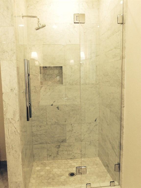 Custom Inline Shower