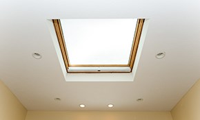 $275 for a New Acrylic Curb Mounted Skylight...