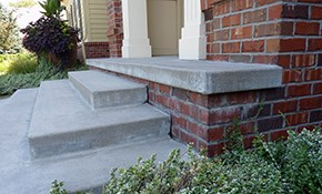 $979 for Lifting/Leveling of Concrete Porch