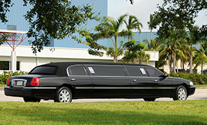 $300 for a 10-Passenger Limousine for 3 Hours