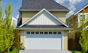 $899 Insulated Garage Door