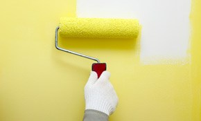 $240 for One Room of Interior Painting